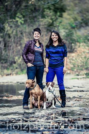 Meg & Bridget Creative Engagement Photos