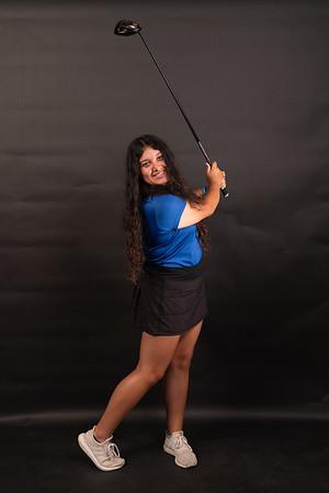 Girls Golf Portraits