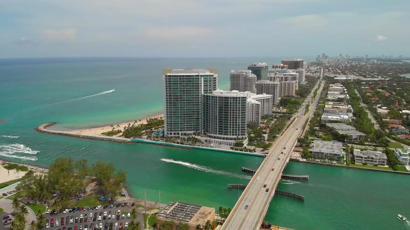 Aerial Bal Harbour Florida