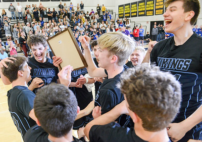 Pleasant Valley boys basketball comes from behind to capture Northern Section title over Foothill