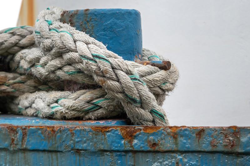 Close-up of a rope, Kilronan, Inishmore, Aran Islands, County Galway, Ireland