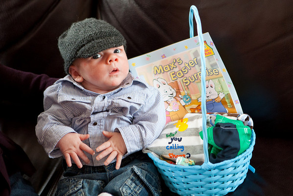 Aiden's First Easter
