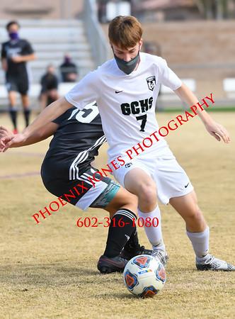 2-13-2021 - Gilbert Christian at NCS - Boys Soccer