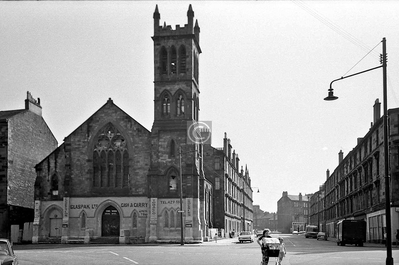 McKinlay St from Abbotsford Place.    July 1975