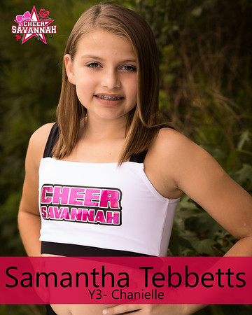 CS-Savammah Tebbetts (Y3 Chanille)