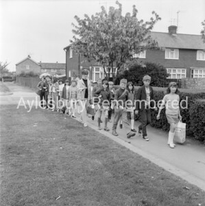 Haydon School walk, May 1970