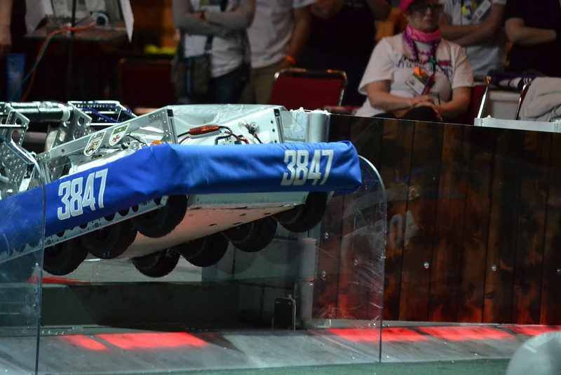 2016 First Bayou Regional Robotics Competition - Bouvier - 617