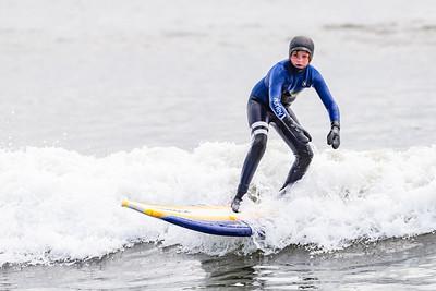 Lars Surfing Long Beach 3-3-19