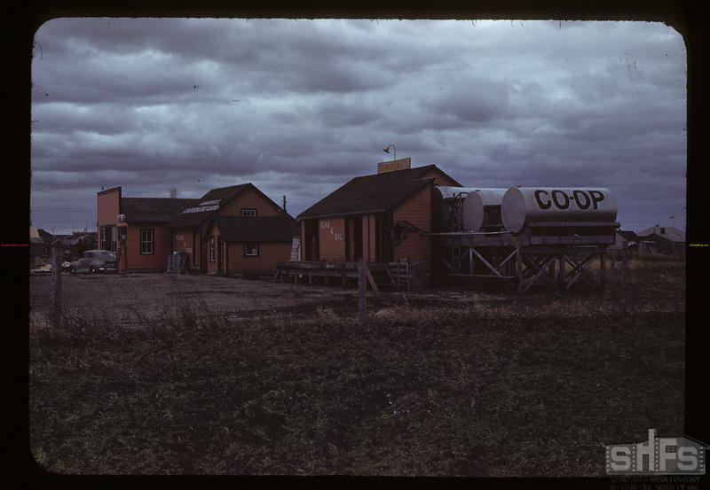 Arborfild Co-op; oil & groceries. Arborfield 10/07/1942
