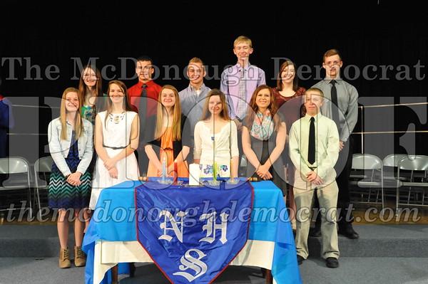 Nat'l Honor Society Inductees 05-14-15