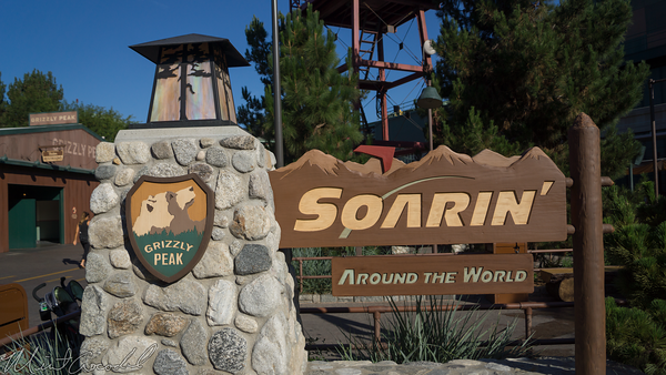 Disneyland Resort, Disney California Adventure, Grizzly, Peak, Airfield, Soarin, Soarin', Around, World
