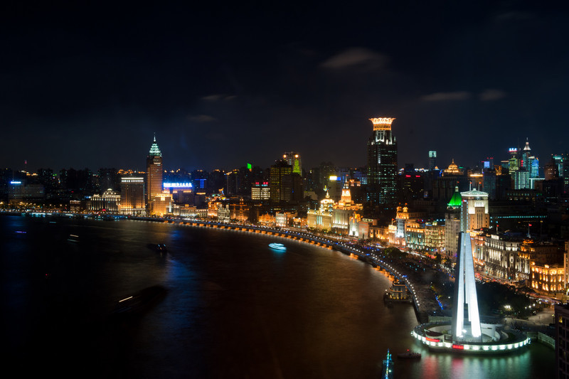 The Bund at Night  (C) 2010 Brian Neal