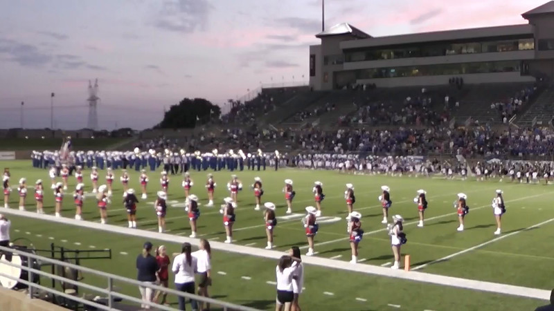 Sept. 25 Plano West Game