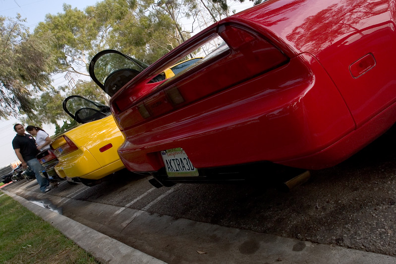 At least Mark (NSX-Ster) and my NSX provide a splash of spirited color