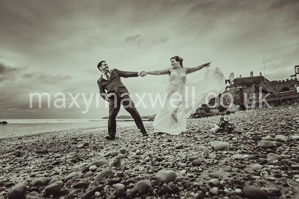 Erin and Kevin in Sidmouth, Devon UK