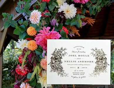 Nellie & Joel's Five Wedding Albums 10.07- 08 2016