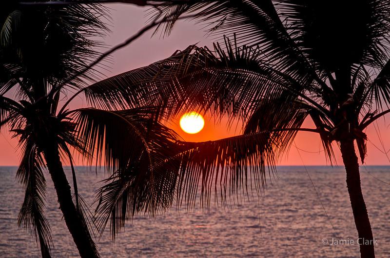 Kona Sunset, Kona, Hawaii