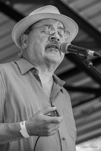 Paul Mejia--Dee Miller Band--Lowertown Blues Festival 2015-Mears Park-St. Paul MN