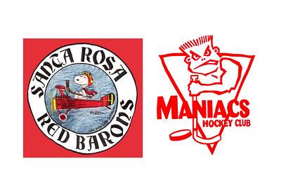 55D Santa Rosa Red Barons 55 vs Cupertino Maniacs