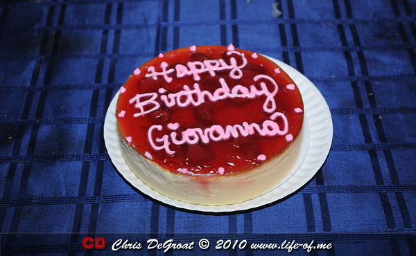 Giovanna's Birthday
