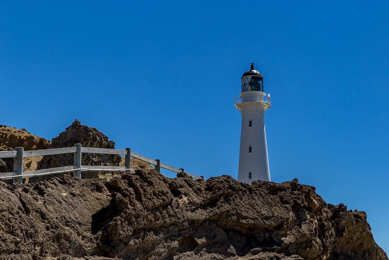 Der Leuchtturm von Castlepoint