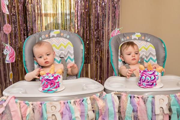 Reilly & Reagan 1st Birthday 4.28.18