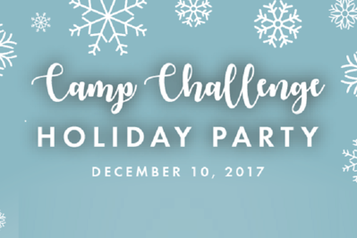 Camp Challenge Holiday Party 12/10/17