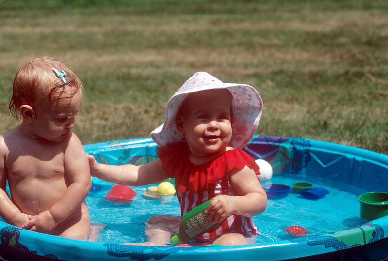 1990-08 Katie & Jad Roberts' Daughter and Friend.jpg