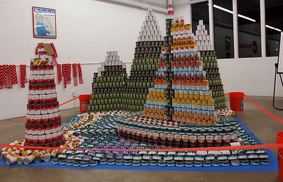 Canstruction Port Angeles 2013