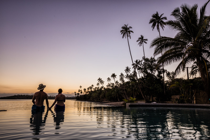 Lina and David Stock (America's Adventure Couple) in Fiji