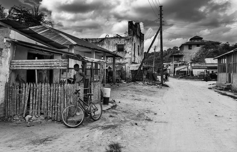 Street in Pangani.  Tanzania, 2019