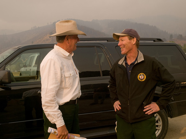 Governor Otter's Visit to Elk