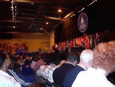 American University Graduation (M.A.) 2000