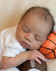 Newborn Baby TJ