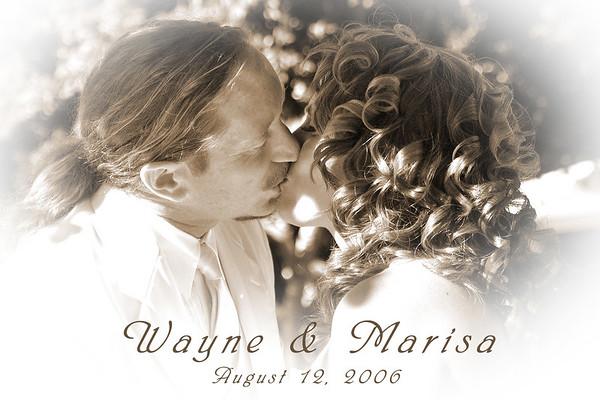 The Wedding of Wayne and Marisa