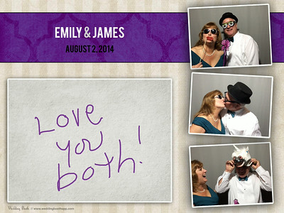 Emily & James - Photo Booth