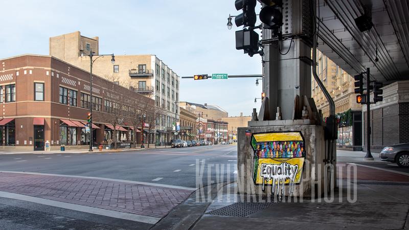 Equality Street Art on Broadway