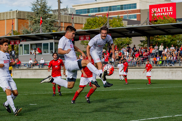 2016 Seattle U Men's Soccer vs Davidson