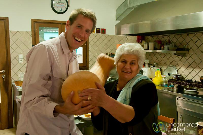 Dan and Grandma Kaliope - Apostili, Crete