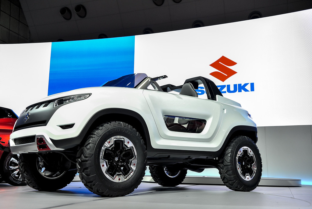 . Suzuki Motor Corp. X-Lander concept vehicle is on display during the 43rd Tokyo Motor Show 2013 at Tokyo Big Sight on November 20, 2013 in Tokyo, Japan.  (Photo by Keith Tsuji/Getty Images)