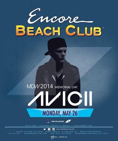 """<FONT SIZE=""""1"""">Encore Beach Club @ Wynn Las Vegas MDW2014 5.26.14"""