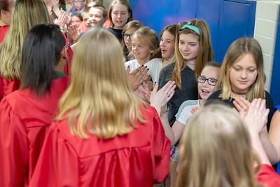 High School - 5/9/2018 Graduation Walk at Daisy Brook
