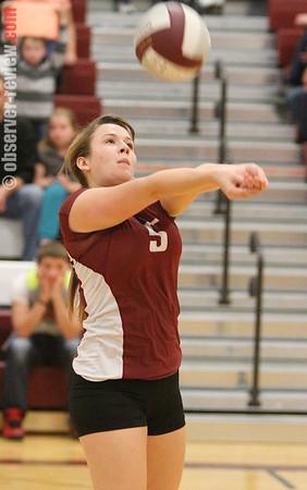 Odessa Watkins Volleyball 10-15-13