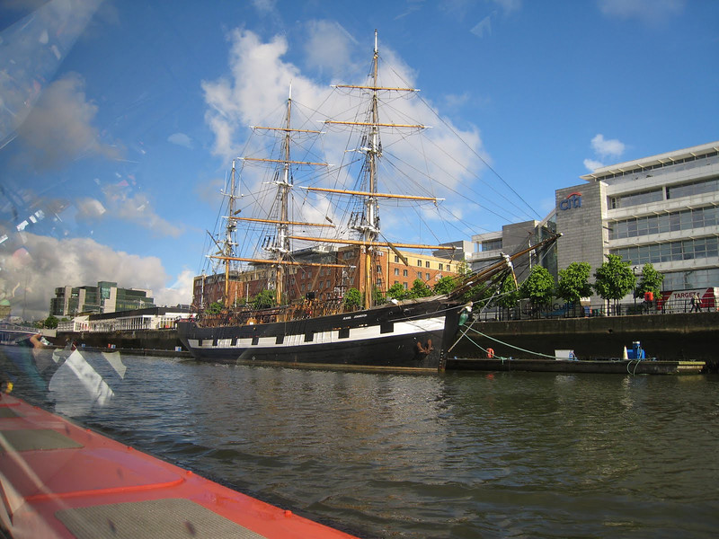 Dublin, Ireland Liffey River Cruise