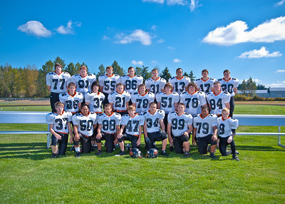 Blaine High School Football Team Pictures 2010