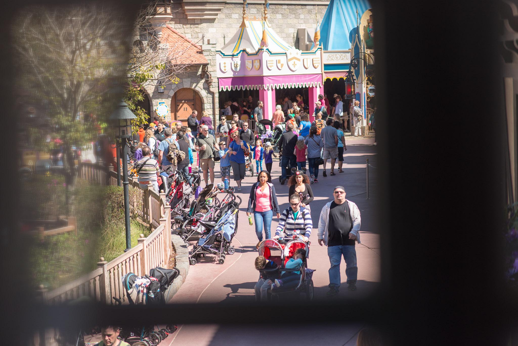Harbor House Upstairs View - Walt Disney World Magic Kingdom