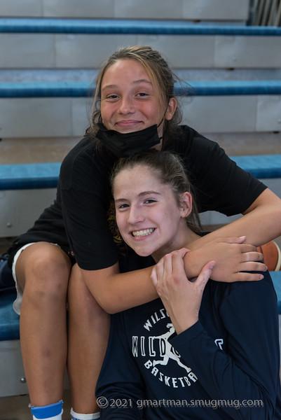 2021 Girls Varsity Basketball vs. Hillsboro