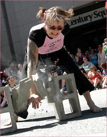 Martial Arts in the Public Interest -- Pride Parade 2006