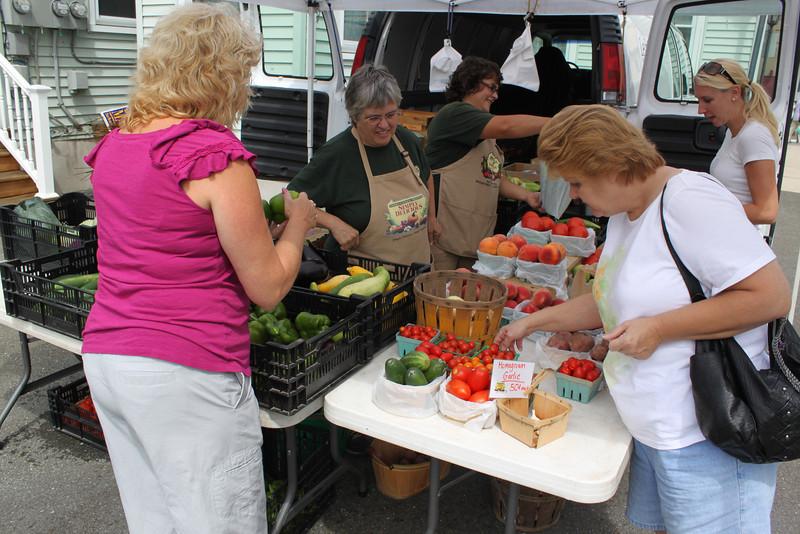 Tamaqua Tuesday Farm Market, West Broad St, Tamaqua, 8-16-2011 (10).JPG