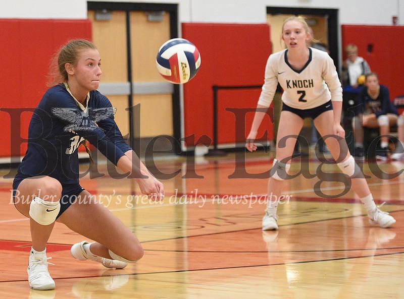 High School Volleyball-Knoch High School vs Thomas Jefferson at Fox Chapel